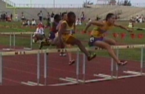 100 hurdles States 1999