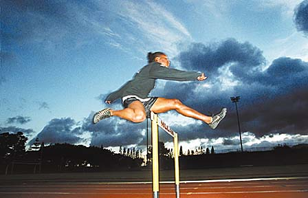 100m hurdles States 1999